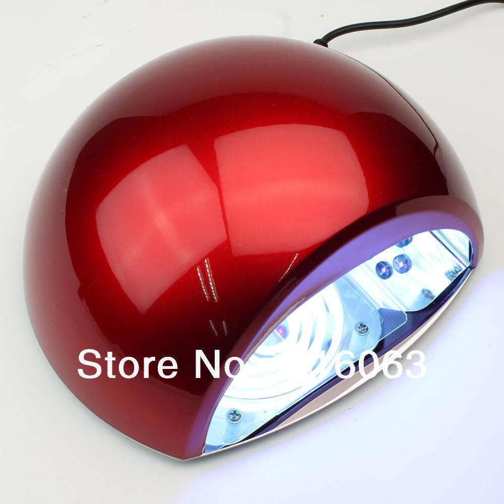 Free Shipping15W LED UV Lamp + CCFL Light Bulb Lamp Dry LED UV Gel Polish NA372(China (Mainland))
