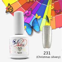 100PCS Choose Mix Colors+TOP +BASE Gelartist UV  Nail Gel Polish Whole Sale nail gel from 551 colors long lasting