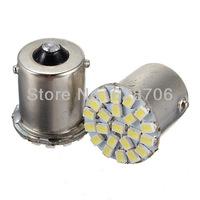 2X Car 1156 BA15S P21W 1073 1206 22 SMD LED Tail Stop Turn Light Lamp Bulb 12V