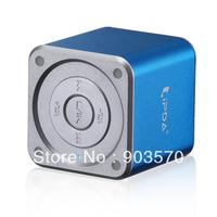 Free shipping&Hot sale:NT-175 Cubic Bluetooth Speaker, Wireless speaker, A2DP+EDR technology,Blue/Silver/Black optional