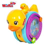 0731 parent-child swing duck 0 - 2 crawling baby toy animal acoustooptical budaoweng music