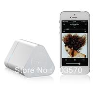 Free shipping&Hot sale:NT-211 Triangle Bluetooth Speaker, Wireless speaker, A2DP+EDR technology,Blue/Silver/Black optional