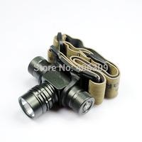 Portable UltraFire UF-H5 Headlight Cree XPG-R5 1-Mode LED Headlamp (1*AA/1*14500) Free Shipping