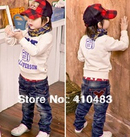 RK0015 Free shipping fashion boys denim pants new kids jeans children trousers for spring autumn MICKEY retail