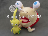 Pikmin Games Bulborb Chappy & Yellow Flower Plush Toy Doll FLOWER Set 10""