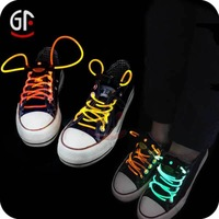 Free Shipping! 2014 Hot Selling Fiber Optic LED Shoelace