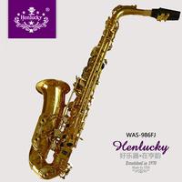 Professional alto saxophone paint gold configuration gift