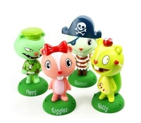 FUNKO HAPPY TREE FRIENDS SET OF 4 WACKY WOBBLER BOBBLE HEAD