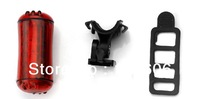 Free shipping 2Pcs/lot 3LED light  bike light bicycle light waterproof lamp taillight bike accessories