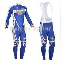 Men's sportswear winter Fleece Thermal castelli ropa ciclismo clothing Bicycle bike long Sleeve cycling  Jersey + bibs pants