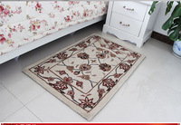 Pure wool rug living room coffee table sofa bedroom carpet 60cm x 90cm