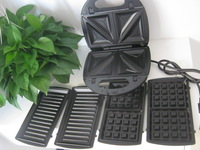Free shipping Sandwich sandwich mcmuffins machine breakfast machine waffle pan the disassemblability clean