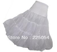 New  White Tulle Hoopless Wedding Bridal Petticoat Crinoline Underskirt