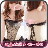 Royal shaper shapewear body shaping vest tiebelt royal slimming clothes no shoulder sleeveless 6020 tape