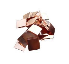 1PCS Graphics card heatsink / thermal film / copper film thickness 15MM * 15MM 0.5MM(China (Mainland))