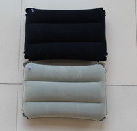 Fleece elongated square pillow /inflatable pillow / air pillow / lunch break pillow / cushion cushion