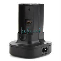 High Quality Charging Station for Xbox 360 Wireless Controller Battery Black Free Shipping