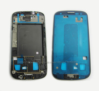 10pcs/lot For Samsung Galaxy S3 i9300 Front Housing Frame Bezel Plate Middle Frame White and Pebble Blue and Black