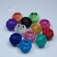 Diy accessories metal material multicolour tennis ball curtain entranceway lanyards accessories