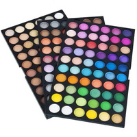 1 set 180 Color Mineral Color Eye Shadow Powder Makeup EyeShadow Palette Neutral Worldwide FreeShipping