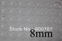 200pcs 8mm Round Clear Epoxy Domes Resin Cabochon Sticker,epoxy domes,clear domes
