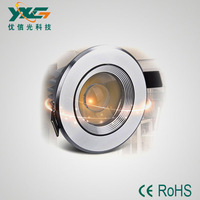 LED downlight COB led cool white 3w AC85-256V free shipping