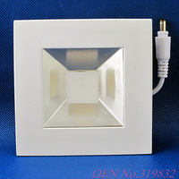 LED Panel 5W Square Warm White COB SMD Light Ceiling Light Lamp 425LM AC85-265V LED0195