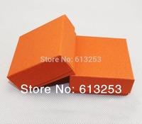Exquisite Orange Jewelry Set Box. Necklace Box. Earrings Jewel Case. Fashion Pendant Ring Box. Wholesale Gift Box.  HO773