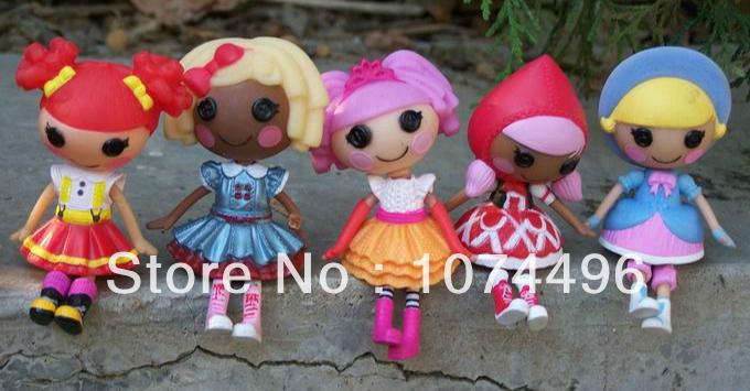 8см 2-дюймовый мини-кукол lalaloopsy игрушки детские