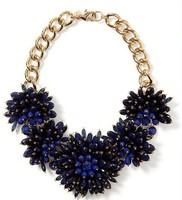 Banana Free Shipping / Dahlia Bouquet Necklace