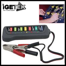 Tirol 12V Digital Battery / Alternator Tester with 6-LED Lights Display Car Vehicle Battery Diagnostic Tool(China (Mainland))
