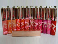 Free Shipping New  Makeup RIRI  Lipgloss 3g ! 12 colors(12 pcs/lots )12pcs Lipgloss