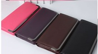 Concise Wallet Leather handbag for women 2014 bag Purse Clutch bags Card Holder Case Best Deals $1.55/pc Mix Colour