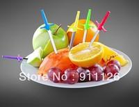 Free shipping 1set reusable Sword fruit skewer creative Sword Toothpicks Cool party picks fruit fork Sword shaped fruit Picks