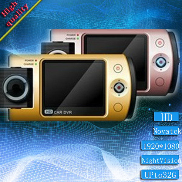 """Freeshipping Original Car DVR Recorder R280 with 2.0"""" TFT LCD + Full HD 1080P 30FPS + HDMI + Wide Angle + Motion Detection(China (Mainland))"""