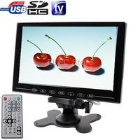 9.0 inch Utltra-thin Touch Button Car Monitor with Remote Controller and USB / SD (MP5) Interface