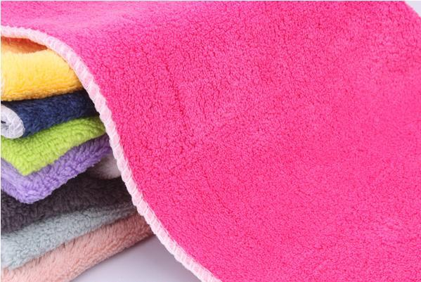 Free shipping 25*30cm 10pieces/lot Kitchen Scouring Pad Eco-Friendly Multi Color Kitchen Washing Dish Cleaning Cloth ZCQ010(China (Mainland))