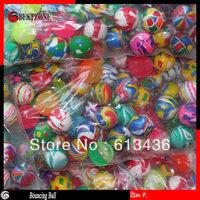 Free shipping 27mm rubber Hi Bouncing balls,  elastic ball,cartoon bouncing ball for kids small solid bouncing ball.