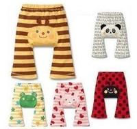 2014 New Arrive Baby Boys Girls PP Pants Kids Animals carton spring long pants Clothing Children Spring Pants Free Shipping