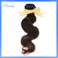 Bargain-Priced Glorious Sunny Hair 1pcs lot Brazilian Body Wave One Bundle Luxurious Machine Weft Quite Real Human Hair BB3412
