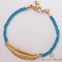 Original Handmade Jewelry Fashion Feather Designer Lucky Fatima Hand Hamsa Bracelet For Women Free Shipping