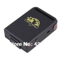 100 units Quad band GPS Tracker TK102B TF Card Solt Car person Track device