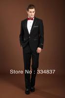 2013 Hot Sale Men Suits Slim Fit Wedding Suits Hansome Tuxedo Formal Dress Suits