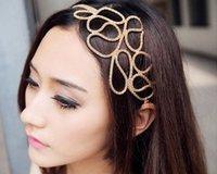 Stylish Hollow Braided Stretch Hair Head Band Accessories Headband Hairband for Women E2956