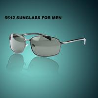 Fashion Sunglasses For fishing and driving  men's eyeglasses  Metal Frames Eyewear UV400 Protection Free Shipping 5512