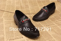 Brand Design Men Shoes For Wedding and Business Genuine Leather Oxfords Shoes Italian Style Flat Dress Shoes