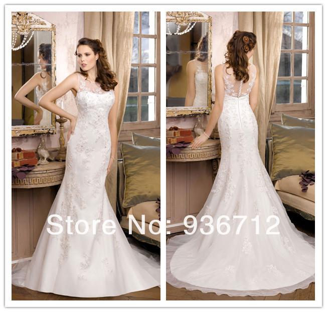 Свадебное платье Wedding dress Scoop SF01140 свадебное платье wedding dress 2015
