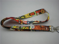 The Avengers, Iron Man, Captain America, Black Widow, Spider Man... Polyester Lanyard with Metal Clip, 35pcs/Lot, Free