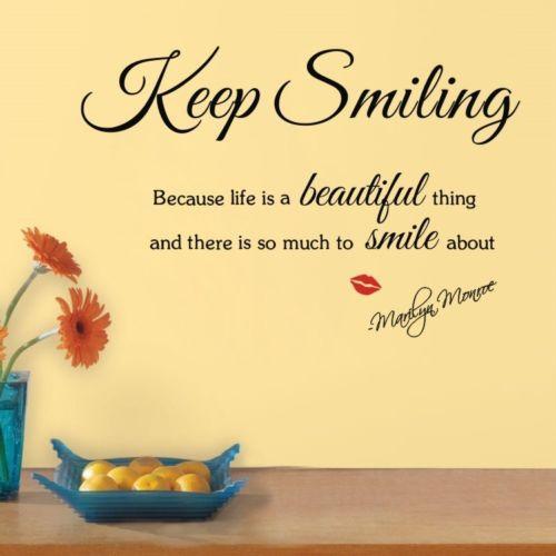 quotes smile life is beautiful quotesgram. Black Bedroom Furniture Sets. Home Design Ideas