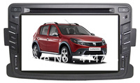 HIGH QUALITY 8 INCH CAR DVD GPS FOR 2013  Renault DUSTER+STEERING WHEEL CONTROL+FREE MAP